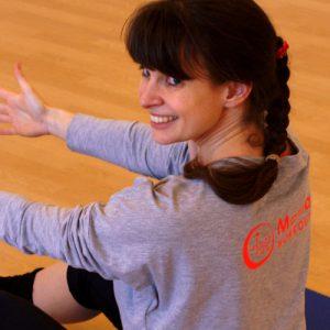 Trainerin Isabel